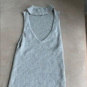LF collar rubbed collar tank